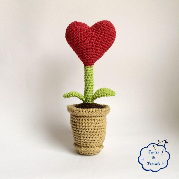 27 best plantas a crochet images on pinterest | plants, crochet