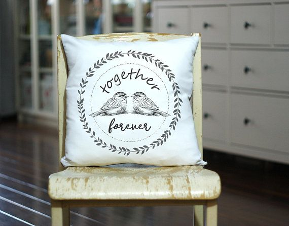 Personalized Wedding Pilow, Just Married Gift