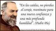 Image result for imagenes frases Padre Pio