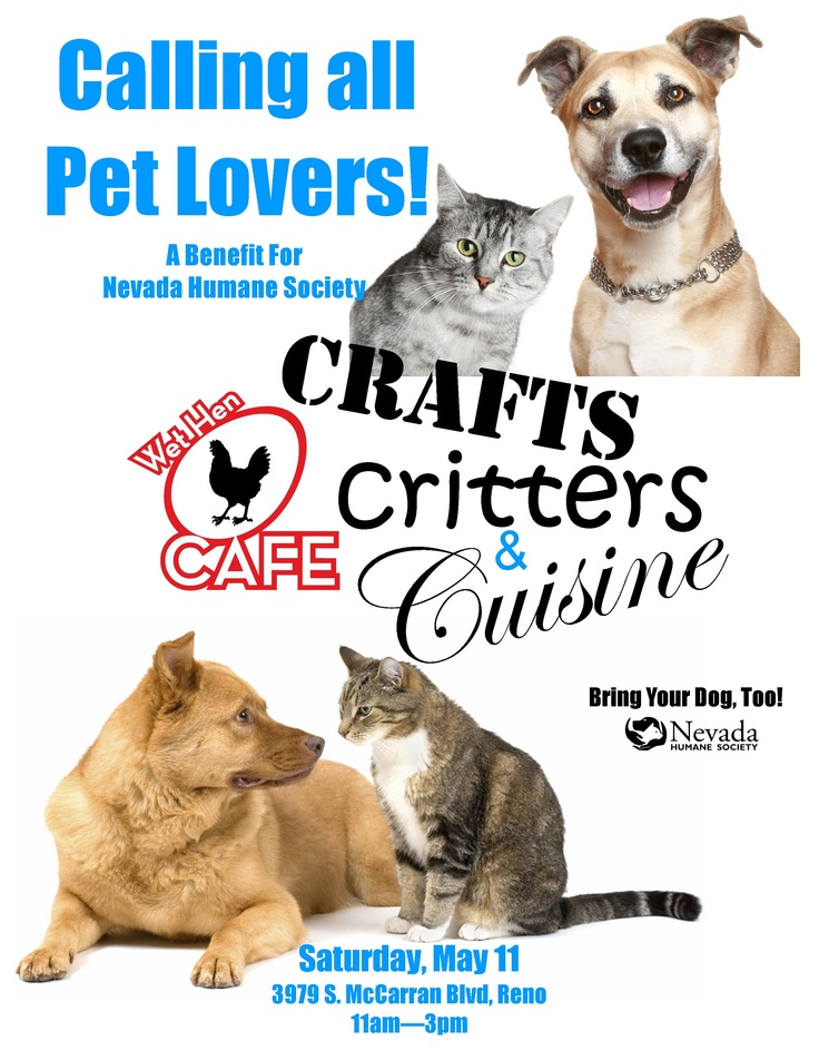 33 best nhs events and fundraisers images on pinterest fundraisers a benefit for nevada humane society hosted by wet hen cafe a local solutioingenieria Gallery