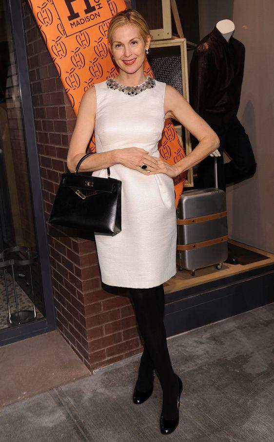 Los bolsos iconos de las firmas de moda: Kelly Rutherford con el Kelly de Hermes | Galería de fotos 5 de 26 | Vogue