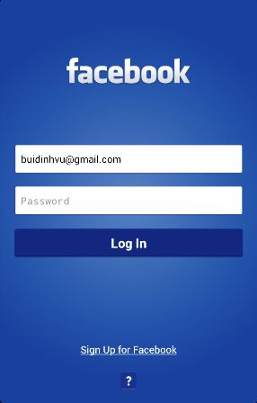 Facebook Login Logout Signup and password Mobile Homepage