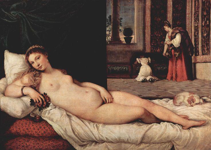 Vénus d'Urbino, Titien, 1538, Offices de Florence - La femme dans le coffre