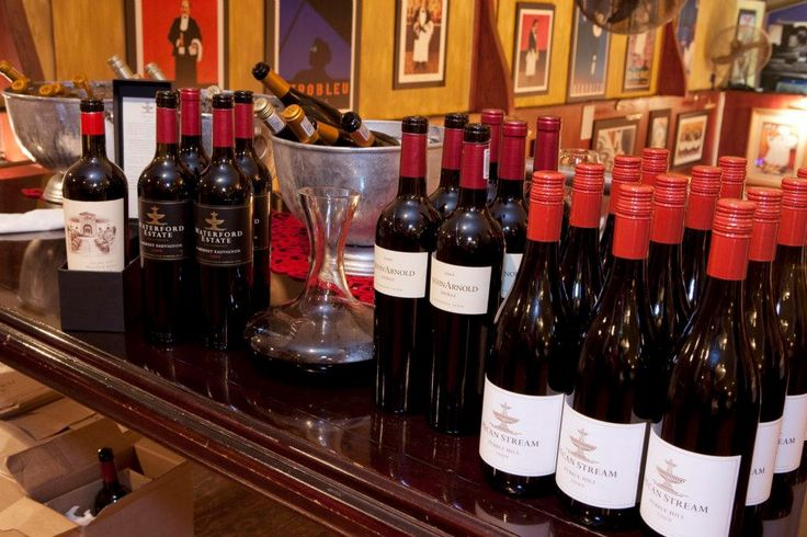 Waterford wines at Indigo Moon.