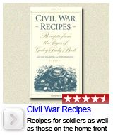Civil War Recipes - sausage and apples recipe is amazing! Simple and classic recipes from the civil war era.