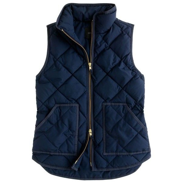 J Crew Excursion Quilted Vest Clothing Obsessed