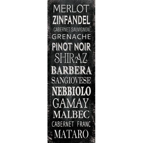 Found it at Wayfair - Chalkboard Reds by IHD Studio Textual Art on Wrapped Canvas