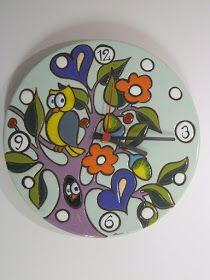 ceramica come mestiere: Tecnica, smalti, esecuzione della CUERDA SECA