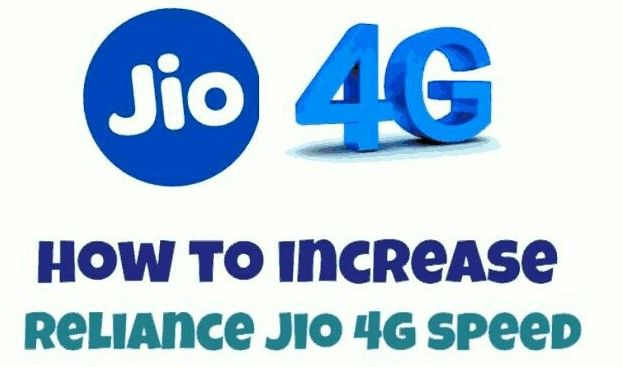 3 Trick increase Jio 4G Speed and download an unlimited movie, and watch an online cricket match with the high download and browsing speed.