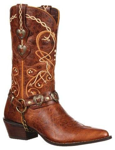 Durango Women's Durango Embroidered Cowboy Boots