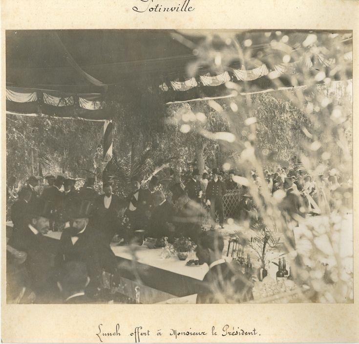 Tunis. Lunch offert au Président de la République Française par S.A. le Bey de Tunis     #Les_années_1900_à_1940_ #Personnalités