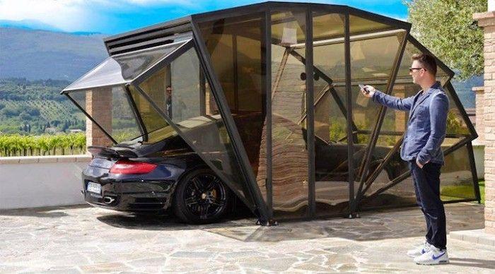 Мобильный гараж GazeBox