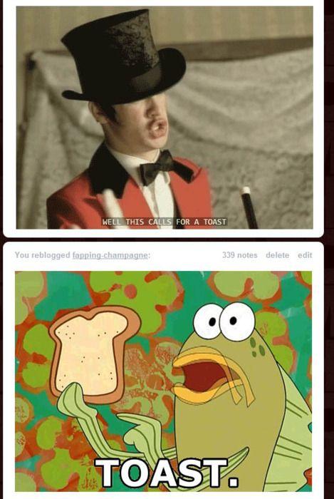 Panic  at the Disco and Spongebob  LOLOLOLOL