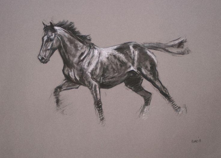 Verkauf Original Pferde Kunst Pferd Kunst von heatherirvinefineart