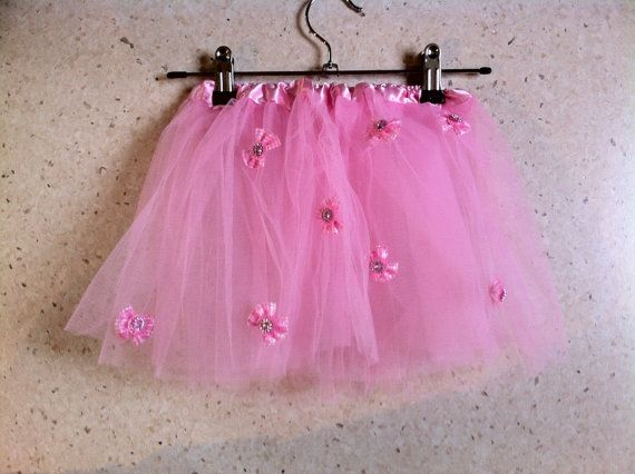 Pretty Pink Princess Ballerina Tutu Soft Tulle by MadeByBecky, $19.00