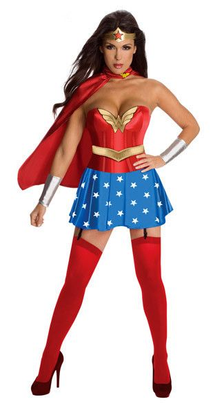 WONDER SUPERWOMAN HALLOWEEN CARNIVAL CHRISTMAS COSPLAY COSTUMES FOR WOMEN LADIES FANCY DRESS PARTY ROLEPLAY