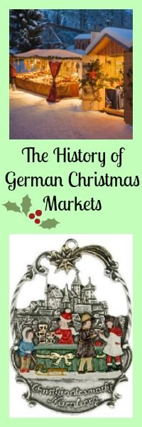 The history of German Christmas Markets. A German Tradition for hundreds of years