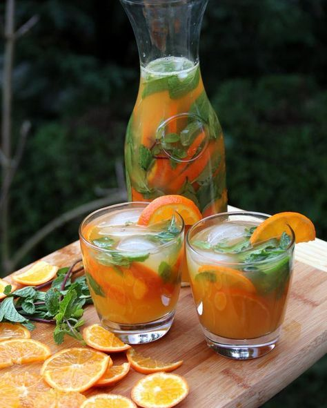 Cocktail de mojito aux fruits