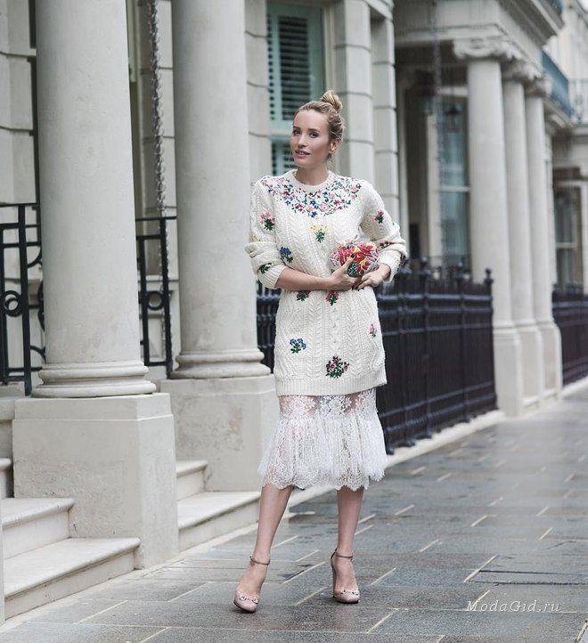 Уличная мода: Наталья Давыдова: модные луки осени 2016