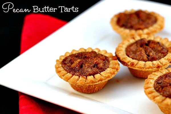 Pecan Butter Tarts Recipe - Simply Stacie
