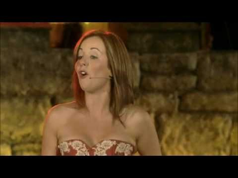 Celtic Woman - The Voice Talk about a powerful song. This song was performed in Slane Castle in County Meath, Ireland