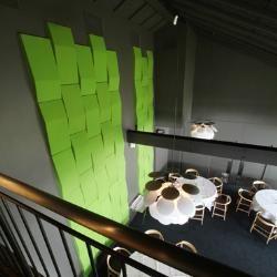referensprojekt Abstracta acoustic panels