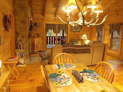 Cabins in Sevierville, TN - Always & Forever Sleeps 1-6 offered by Affordable Cabins in the Smokies. See photos, pricing, availability, and make a reservation.