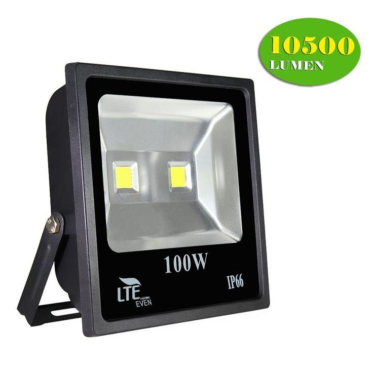7 best outdoor flood light images on pinterest amazon bright and bulb lte super bright 100w outdoor led flood lights 10500 lumen 250w hps aloadofball Gallery
