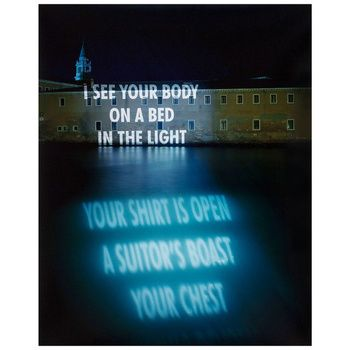 I See Your Body, Jenny Holzer, 1999, Contemporary Art