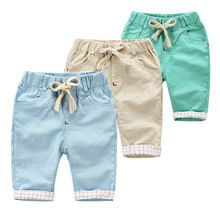 Summer Children Beachwear Casual Beach Shorts Kids Clothes Cotton Baby Boys Shor…