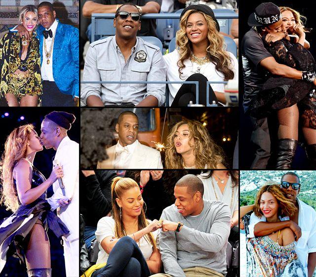Beyonce & Jay-Z's Sexy Romance