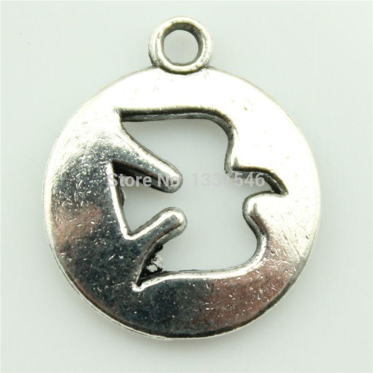 Подвески голубь мира вырез 30 шт. 15 мм тибетский серебряный позолоченный подвески античная ювелирных изделий поделки ручной работы ремесло