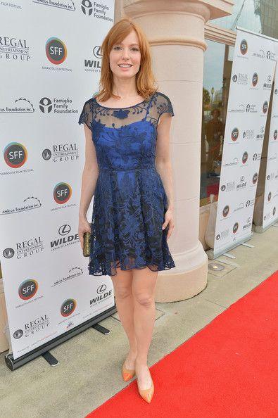 Alicia Witt Cocktail Dress