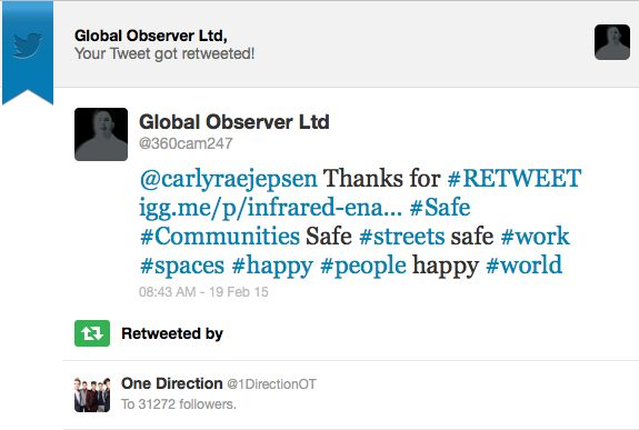 #OneDirection Endorsement