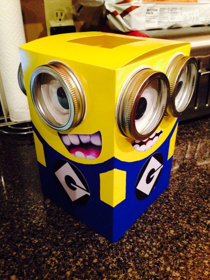 Despicable Me Minion Valentine box