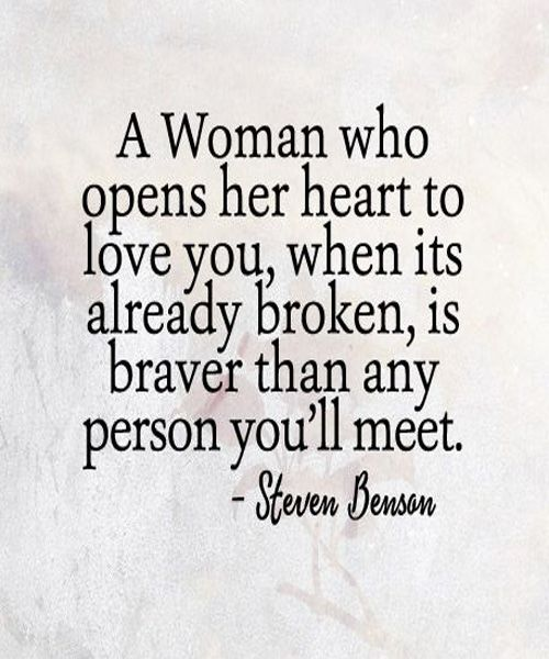 Open Her Hearts To Love You- Love Quotes