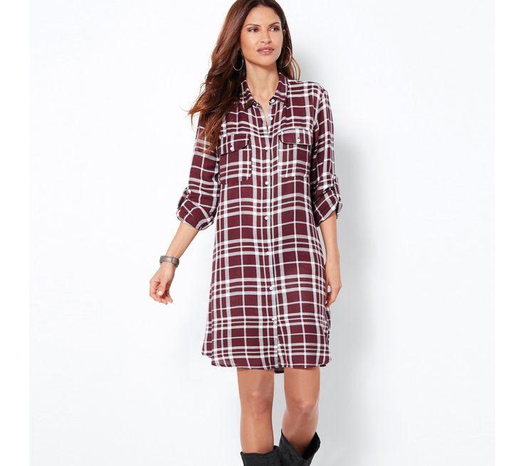 Kockované košeľové šaty | modino.sk  #modino_sk #modino_style #style #fashion #newseason #autumn #fall