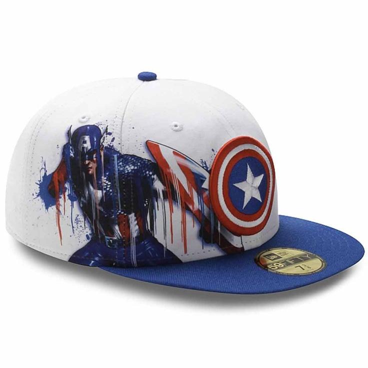 Gorra New era/Cap New Era Crown Sick Capitan América