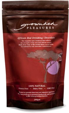 Grounded Pleasures African Red Drinking Chocolate 200gm