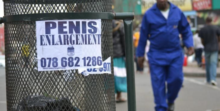 penis enlargement south africa poster - Google Search
