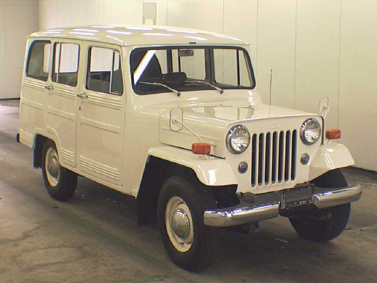 Mitsubishi jeep, 1973. I want it