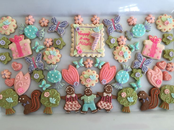 Borthday cookies