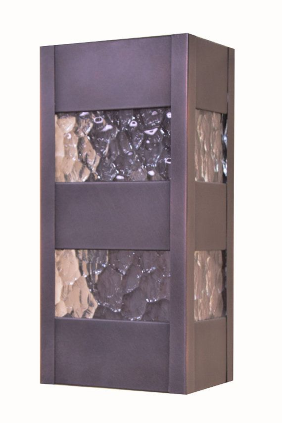 Contemporary Wall Sconce  Up and Down Wall by LightcraftersAustin