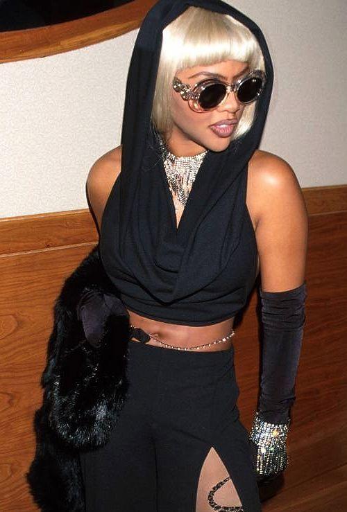 Lil kim 90s style dress