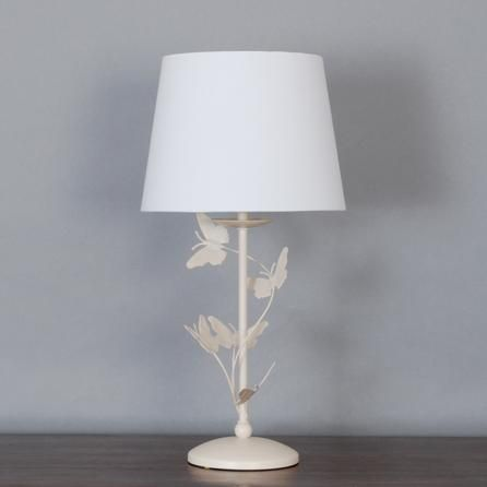 Cream Bella Butterfly Table Lamp Dunelm in 2019 Table
