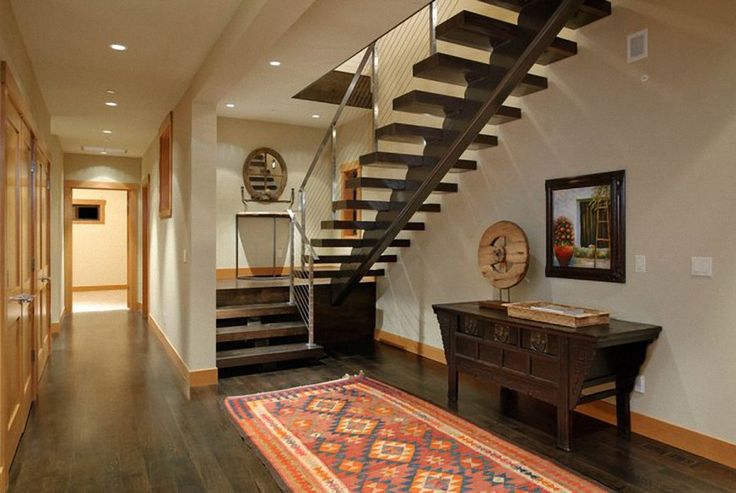 Staircase Design Wood And Steel Open Tread ARCHIMOVER
