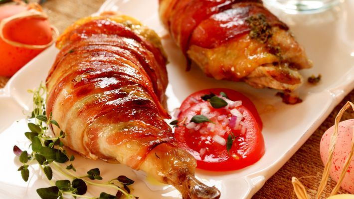 MatPrat - Kyllinglår med pepperrot- og gressløksmør