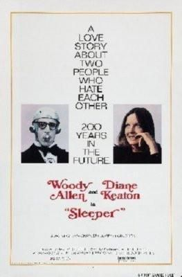 Sleeper Movie Poster Standup 4inx6in