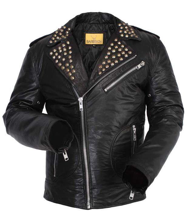 Bareskin Black Leather Unisex