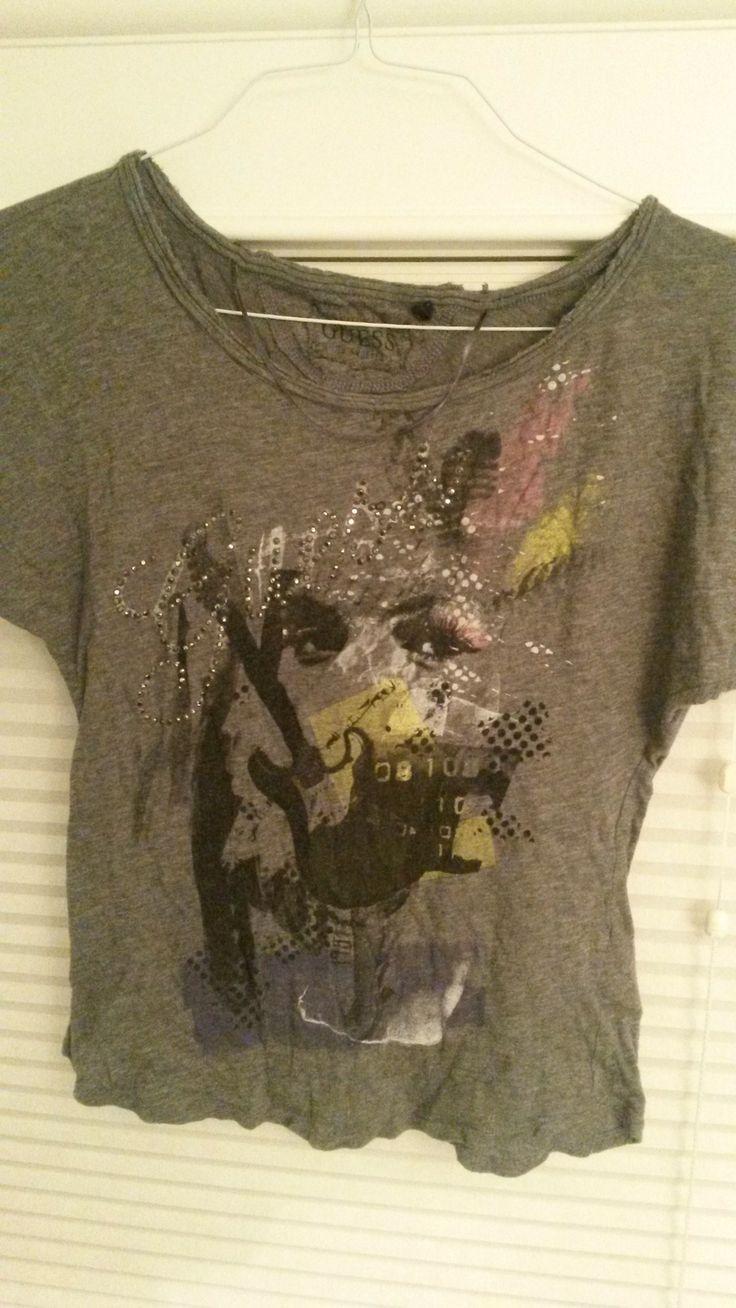 Size small GUESS shirt. $10